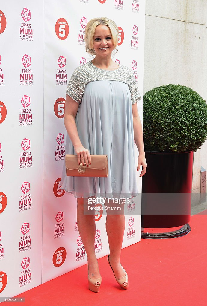 Jennifer Ellison attends the Tesco Mum of the Year awards at The Savoy Hotel on March 3, 2013 in London, England.