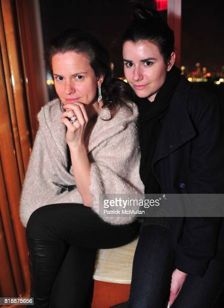 Jennifer Elster and Angelic Mermet attend NOWNESS Presents the New York Premiere of JeanMichel Basquiat The Radiant Child at MoMa on April 27 2010 in...