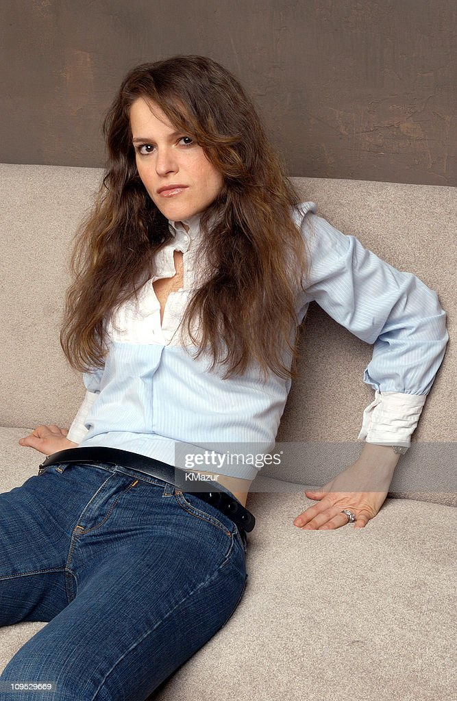 Jennifer Elster during 2003 Tribeca Film Festival - 'Particles of Truth' Portraits at WireImage Portrait Studio, Michael Perez Pop Art Gallery in New York City, New York, United States.