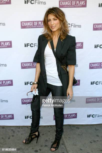 Jennifer Esposito attends The New York Premiere of 'CHANGE OF PLANS' at IFC Center on June 8 2010 in New York City