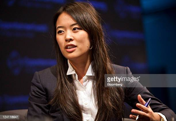 Jennifer Fan a partner and senior portfolio manage at Arrowhawk Capital Partners speaks during a panel discussion at the Bloomberg Global Inflation...