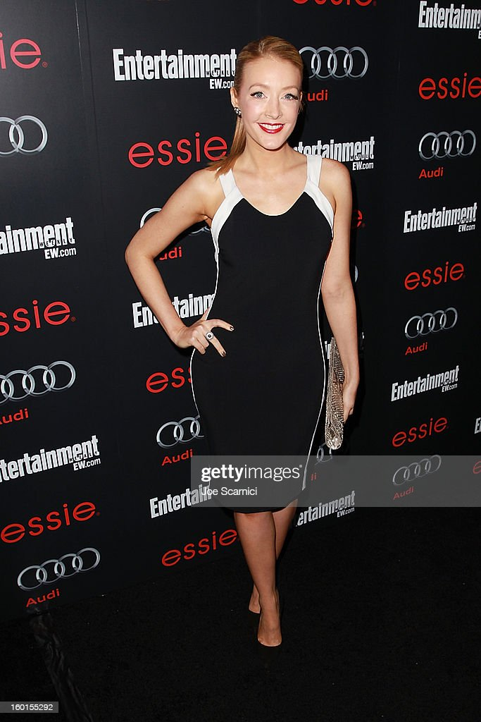 Jennifer Finnigan arrives at Entertainment Weekly Screen Actors Guild Awards Pre-Party at Chateau Marmont on January 26, 2013 in Los Angeles, California.