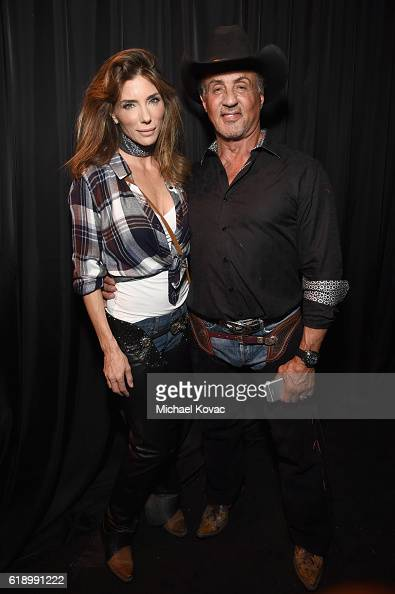jennifer-flavin-and-actor-sylvester-stallone-attend-the-casamigos-picture-id618991222