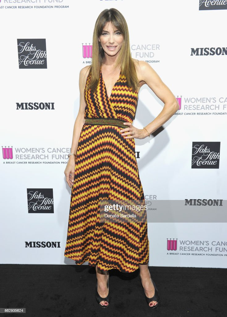 Jennifer Flavin at SAKS FIFTH AVENUE and WOMENS CANCER RESEARCH FUND celebration of KEY TO THE CURE with MISSONI at Mr. Chow on October 18, 2017 in Beverly Hills, California.