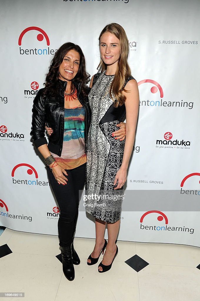 Jennifer Ford and Julie Henderson attend the 2013 Bent on Learning Spring Fling Benefit at Indochine on May 29, 2013 in New York City.