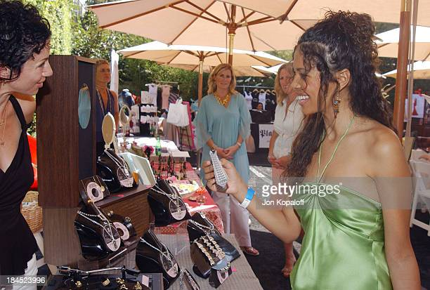 Jennifer Freeman at Kimberly Baker during Style Lounge Honoring Heal the Bay Presented by Kari Feinstein PR Day 1 at Chaz Dean Studio in Hollywood...
