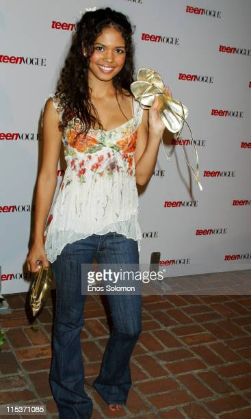 Jennifer Freeman during Teen Vogue 'Young Hollywood' Party at Chateau Marmont in West Hollywood California United States