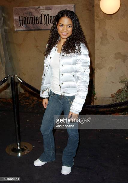 Jennifer Freeman during 'The Haunted Mansion' Los Angeles Premiere at The El Capitan Theatre in Hollywood California United States