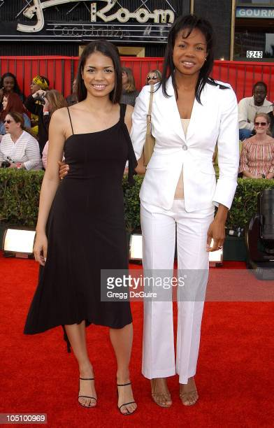 Jennifer Freeman Mom Theresa during ABC's 50th Anniversary Celebration at The Pantages Theater in Hollywood California United States