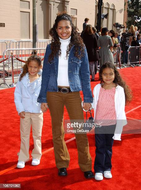 Jennifer Freeman sisters Megan Melissa during 20th Anniversary Premiere of Steven Spielberg's 'ET The ExtraTerrestrial' Red Carpet at Shrine...