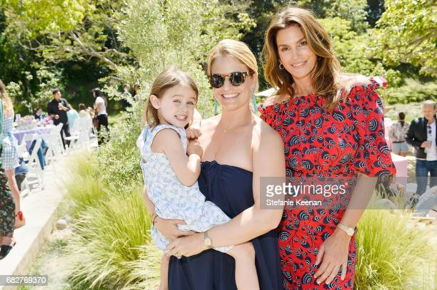 Jennifer Garcia Allen and Cindy Crawford attend Cindy Crawford and Kaia Gerber host Best Buddies Mother's Day Brunch in Malibu CA sponsored by David...