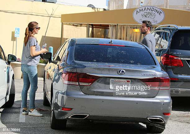 Jennifer Garner and Ben Affleck are seen on March 06 2016 in Los Angeles California