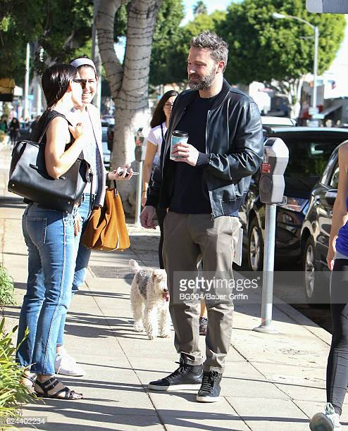 Jennifer Garner and Ben Affleck are seen on November 19 2016 in Los Angeles California