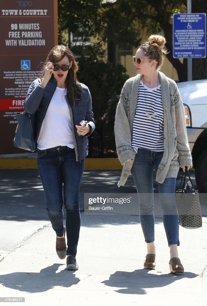 <a gi-track='captionPersonalityLinkClicked' href=/galleries/search?phrase=Jennifer+Garner&family=editorial&specificpeople=201813 ng-click='$event.stopPropagation()'>Jennifer Garner</a> and <a gi-track='captionPersonalityLinkClicked' href=/galleries/search?phrase=Judy+Greer&family=editorial&specificpeople=214752 ng-click='$event.stopPropagation()'>Judy Greer</a> are seen as they go out to lunch on March 13, 2014 in Los Angeles, California.