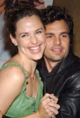 Jennifer Garner and Mark Ruffalo during InStyle Magazine Hosts Cocktail Reception and Screening of '13 Going On 30' at Nobu in New York City New York...