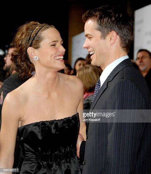 Jennifer Garner and Timothy Olyphant during 'Catch And Release' Los Angeles Premiere Arrivals at Egyptian Theater in Hollywood California United...