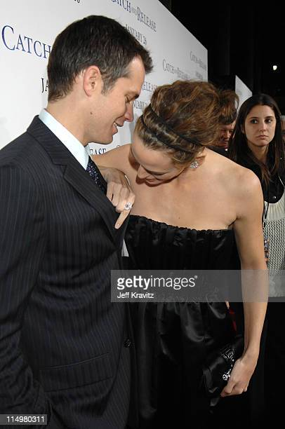 Jennifer Garner and Timothy Olyphant during 'Catch and Release' Los Angeles Premiere Red Carpet at The Egyptian Theatre in Hollywood California...