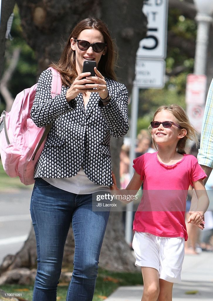 <a gi-track='captionPersonalityLinkClicked' href=/galleries/search?phrase=Jennifer+Garner&family=editorial&specificpeople=201813 ng-click='$event.stopPropagation()'>Jennifer Garner</a> and <a gi-track='captionPersonalityLinkClicked' href=/galleries/search?phrase=Violet+Affleck&family=editorial&specificpeople=4542495 ng-click='$event.stopPropagation()'>Violet Affleck</a> are seen on June 5, 2013 in Los Angeles, California.