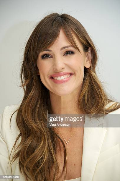 Jennifer Garner at the 'Alexander And The Terrible Horrible No Good Very Bad Day' Press Conference at the Four Seasons Hotel on September 28 2014 in...
