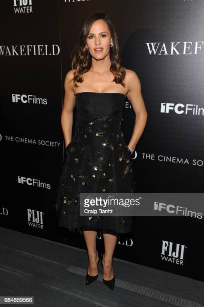 Jennifer Garner attends a special screening of 'Wakefield' hosted by FIJI Water and the Cinema Society at Landmark Sunshine Cinema on May 18 2017 in...