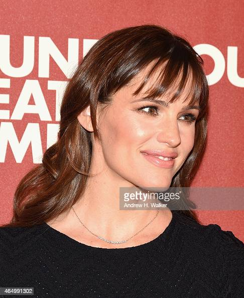 Jennifer Garner attends the Roundabout Theatre Company's 2015 Spring Gala at the Grand Ballroom at The Waldorf=Astoria on March 2 2015 in New York...