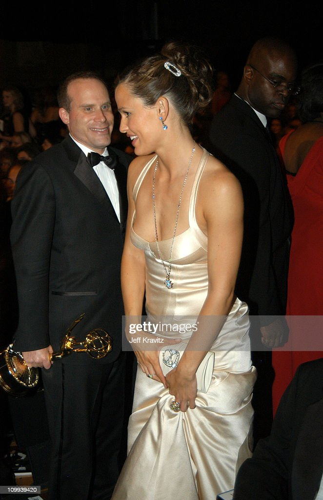 Jennifer Garner during 55th Annual Primetime Emmy Awards - Backstage and Audience at The Shrine Auditorium in Los Angeles, California, United States.