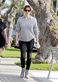 Jennifer Garner is seen in Los Angeles on February 26 2015 in Los Angeles California