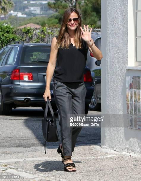 Jennifer Garner is seen on August 13 2017 in Los Angeles California