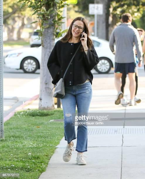 Jennifer Garner is seen on March 24 2017 in Los Angeles California