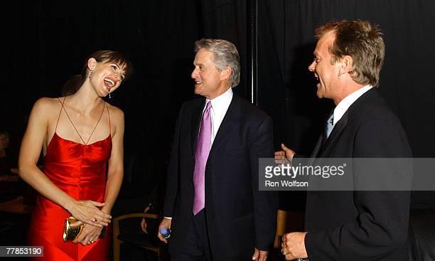 Jennifer Garner Michael Douglas and Kiefer Sutherland