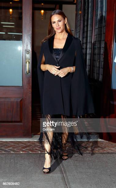 Jennifer Garner on October 18 2017 in New York City