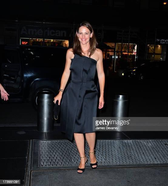 Jennifer Garner seen on the streets of Manhattan on July 18 2013 in New York City