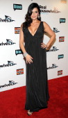 Jennifer Gimenez attends the 'Real Housewives of Beverly Hills' Season 3 premiere party at Hollywood Roosevelt Hotel on October 21 2012 in Hollywood...