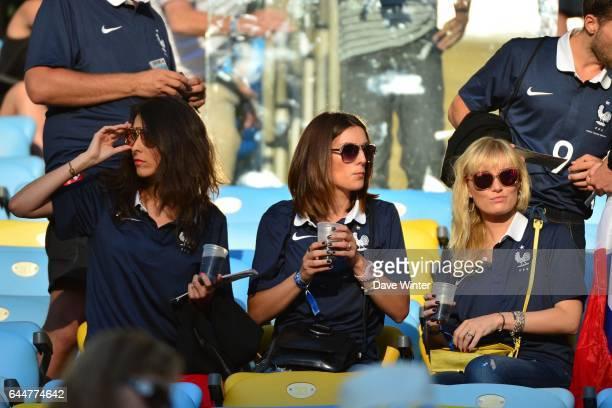 Jennifer GIROUD / copine de Morgan SCHNEIDERLIN France / Equateur Coupe du Monde 2014 Photo Dave Winter / Icon Sport