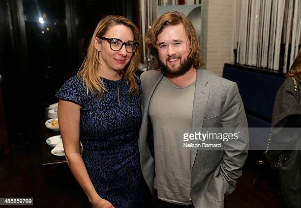 Jennifer Glynn and Haley Joel Osment attend the Official After Party for 'In Your Eyes' starring Zoe Kazan And Nikki Reed sponsored By BOMBAY...