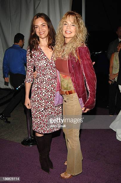 Jennifer Grant and Dyan Cannon during 2nd Annual Lakers Casino Night Benefiting the Lakers Youth Foundation Red Carpet and Inside at Barker Hanger in...