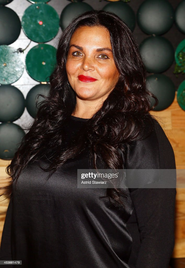 Jennifer Graziano attends 'Mob Wives' Season 4 premiere at Greenhouse on December 5, 2013 in New York City.