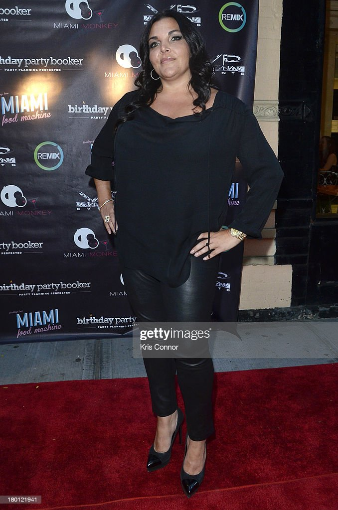 Jennifer Graziano poses for photos during the 'Miaimi Monkey' New Screening at 49 Grove on September 8, 2013 in New York City.