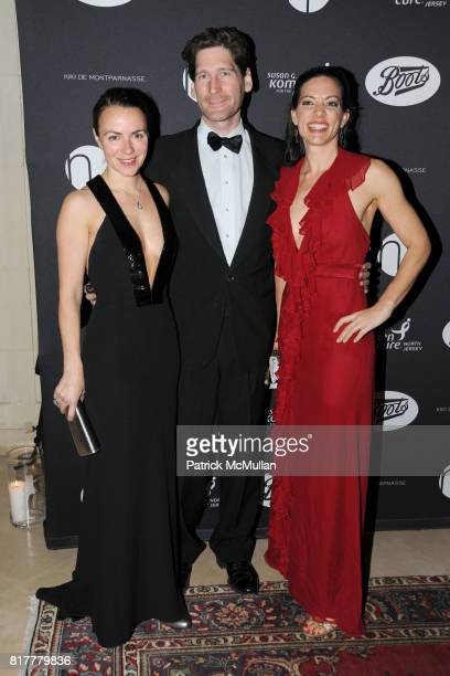 Jennifer Green Mills Prubhomme and Alison Kelly attend VIP MASKED BALL for Susan G Komen Headlined by Sir Richard Branson Katie Couric Cornelia Guest...