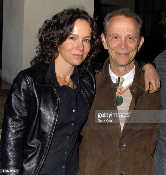 Jennifer Grey and father Joel Grey during Venice Magazine Hosts After Party for 'The 25th Annual Putnam County Spelling Bee' Opening Night at...