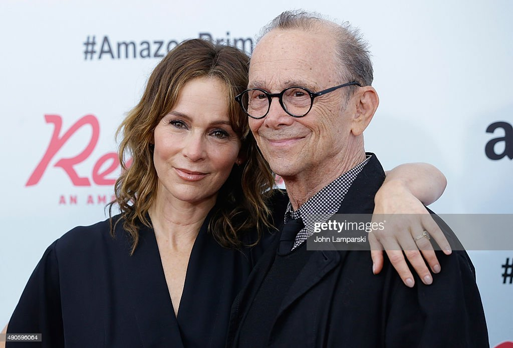 Jennifer Grey and Joel Grey attend 'Red Oaks' series premiere at Ziegfeld Theater on September 29, 2015 in New York City.