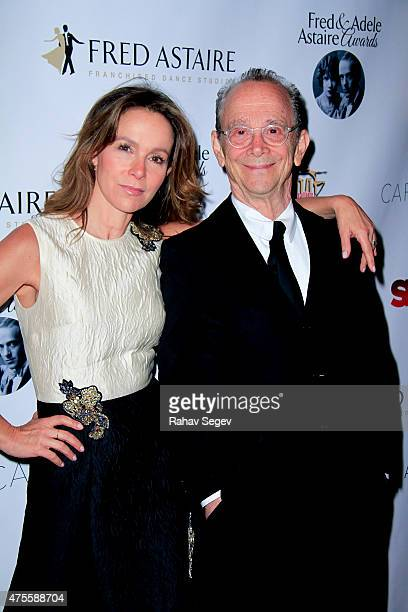 Jennifer Grey and Joel Grey attend the 33rd Annual Fred and Adele Astaire Awards at The Jack H Skirball Center for the Performing Arts on June 1 2015...