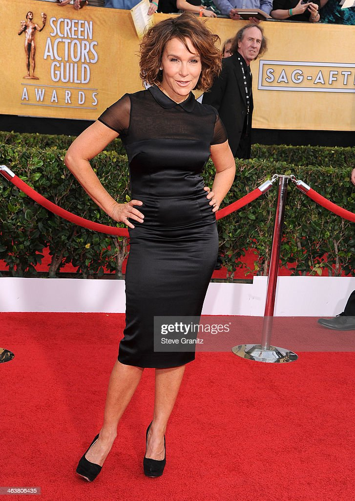 Jennifer Grey arrivals at the 20th Annual Screen Actors Guild Awards at The Shrine Auditorium on January 18 2014 in Los Angeles California