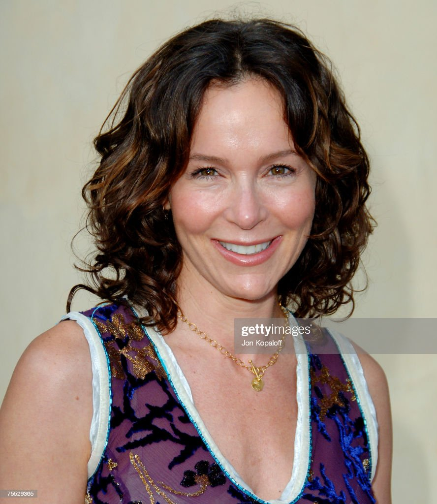 Jennifer Grey at the Chrysalis' 5th Annual Butterfly Ball at The Italian Villa Carla & Fred Sands in Bel Air, California.