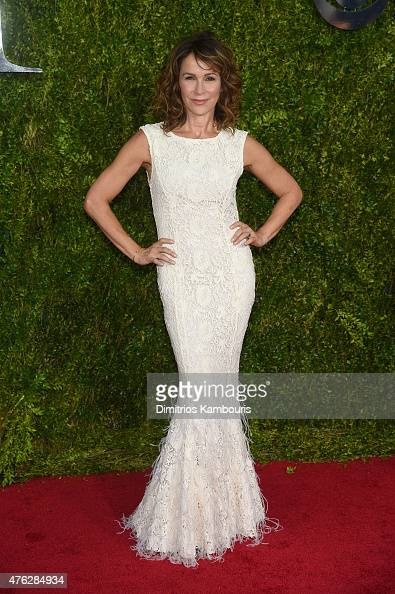Jennifer Grey attends the 2015 Tony Awards at Radio City Music Hall on June 7 2015 in New York City