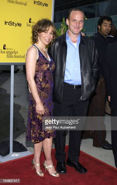 Jennifer Grey Clark Gregg during 2002 IFP/West Los Angeles Film Festival Opening Night at Arclight Cinerama in Hollywood California United States