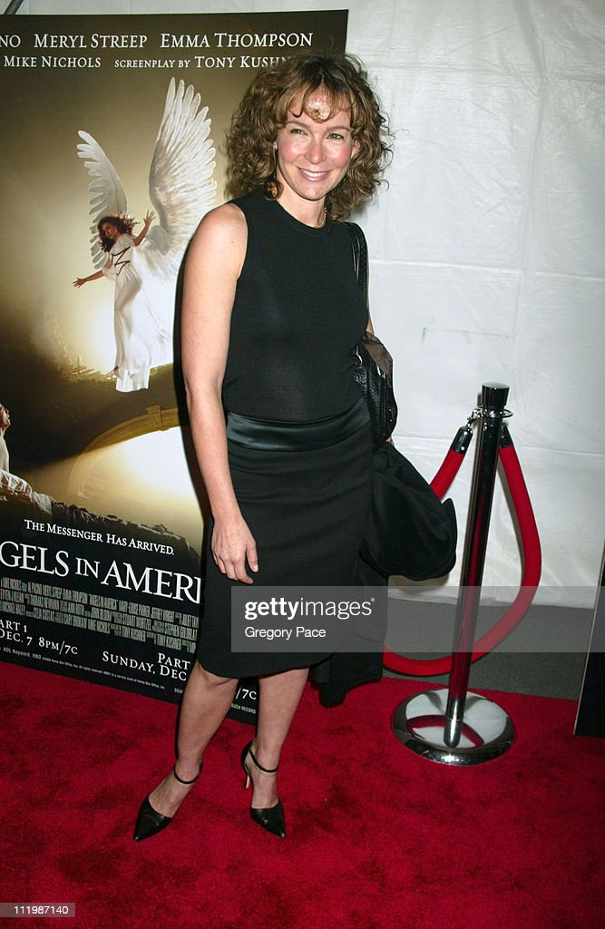 Jennifer Grey during 'Angels In America' - New York Premiere at The Ziegfeld Theater in New York City, New York, United States.