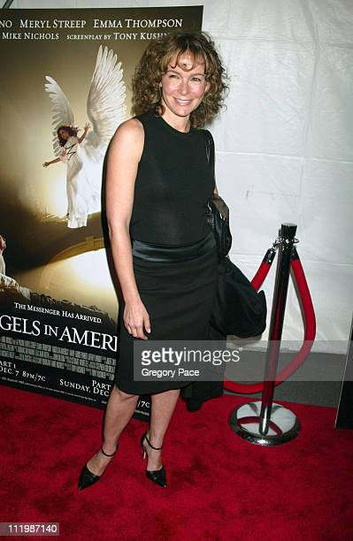 Jennifer Grey during 'Angels In America' New York Premiere at The Ziegfeld Theater in New York City New York United States