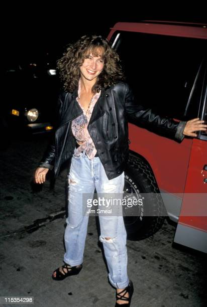 Jennifer Grey during Madonna's Birthday Party 1989 at Rubber Club in Hollywood California United States