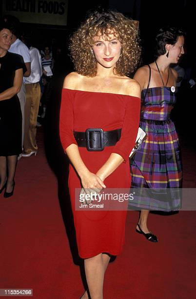 Jennifer Grey during Premiere of 'Dirty Dancing' at Gemini Theater in New York City New York United States